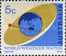 USED STAMPS Australia - World Weather Watch Day -1967 - 1966-79 Elizabeth II