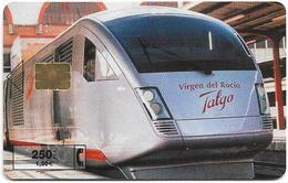 Spain - Telefónica - Virgen Del Rocio Talgo Train - P-449 - 12.2000, 5.100ex, Used - Emisiones Privadas