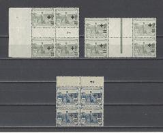 FRANCE.  YT  Millésimes  N° 164-165  Neuf **  1922 - Millésimes