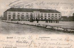 (110)  CPA   Rastatt Leopoldskaserne  1904 - Rastatt