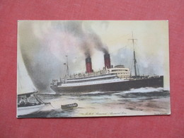 Artist Impression  RMS Caronia  Cunard Line    Ref 3422 - Steamers