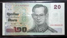 Thailand Banknote 20 Baht Series 15 P#109 SIGN#75 UNC - Thailand