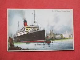 Artist Impression  RMS Lamaria   Cunard Line    Ref 3422 - Steamers