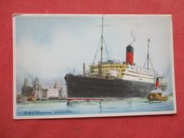 Artist Impression  RMS Franconia    Cunard Line    Ref 3422 - Steamers