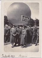 77 MEAUX - AVIATION - Photo Originale Ballon Sphérique Montgolfière RIPOLIN - Pentecôte 1931 - Meaux