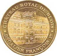 41 BLOIS CHÂTEAU ROYAL FRANÇOIS 1er ESCALIER MÉDAILLE MONNAIE DE PARIS 2019 JETON TOKEN MEDAL COIN - 2019