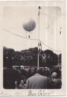 77 MEAUX - AVIATION - Photo Originale Ballon Sphérique Montgolfière RIPOLIN - Pentecôte 1931 - Place Lafayette - Meaux