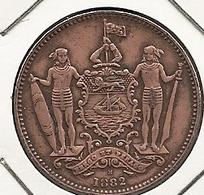 British North Borneo - Malaisie - 1 Cent 1882 H, Birmingham BON ETAT - Malasia