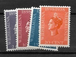 1938 MH Nederlands Indië - Netherlands Indies