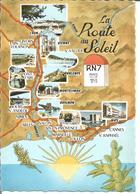 La Route Du Soleil RN 7 - Cartes Postales