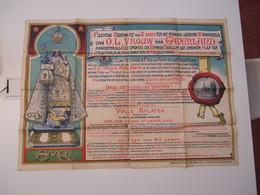 VP AFFICHE 84cm X 117cm (V1912) MELSELE WAAS ( 3 Vues) O. L. Vrouw Van GAVERLAND - Posters