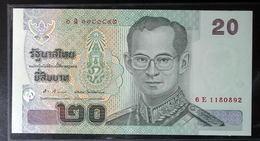 Thailand Banknote 20 Baht Series 15 P#109 SIGN#83.2 UNC - Thailand