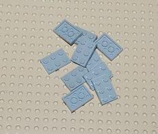 Lego 10x Plate Gris Ancien 2x3 Ref 3021 - Lego Technic
