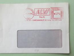 Italia, Industria, ALVI, Alluminio, Affranc. Mecc., Meter, Freistempel, Ema (frammento) (DZ) - Fabbriche E Imprese
