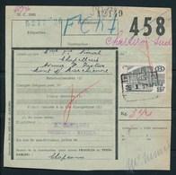 """Vrachtbrief Met Stempel  """"REGISSA"""" - (ref. Nr 441) - Railway"""