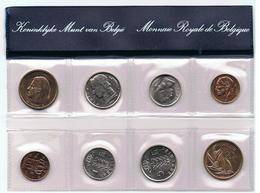 1980 Muntenset Coin Set 2 Scans Vlek Op 50ct - Collections
