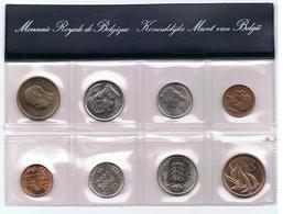 1981 Muntenset Coin Set 2 Scans - Belgique