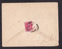 Japan: Old Cover, 1 Stamp (damaged!) - Japan