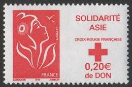 France Neuf Sans Charnière 2005 Marianne De Lamouche Solidarité Asie Tsunami  YT 3745 - 2004-08 Marianne Of Lamouche