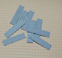 Lego 10x Plate Gris Ancien 2x8 Ref 3034 - Lego Technic