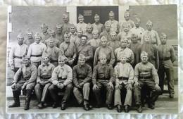 CPA PHOTO MILITAIRE - TB PLAN D'un GROUPE En CP Photographique Casernement De La 4è Batterie 16è RAD 2è Groupe Régiment - Regiments