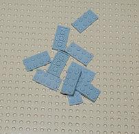 Lego 10x Plate Gris Ancien 2x4 Ref 3020 - Lego Technic
