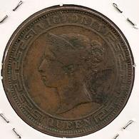 CEYLON/SRI LANKA 5 CENTS 1892 - Sri Lanka