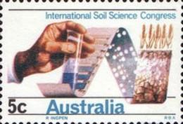 USED STAMPS Australia - International Soil Science Congress  -1968 - 1966-79 Elizabeth II