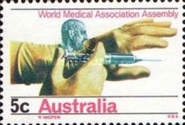 USED STAMPS Australia - World Medical Association Assembly - Syd  -1968 - 1966-79 Elizabeth II