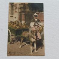LAITIERE FLAMANDE - Edit Nals, Série Laitiière N° 21 - Envoyée De Bruges Le 5-03-1915 Par Soldat Allemand - Marchands Ambulants