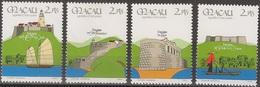 Macau Portugal China Chine 1986 - Fortalezas De Macau - 10th Anniversary Of Security Forces Fortresses - Mint MNH / Neuf - Macau