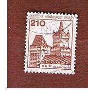 GERMANIA: BERLINO (GERMANY: BERLIN) - SG B524a   - 1979 GERMAN CASTLES 210  -  USED - [5] Berlin