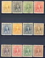 1907 - Montenegro - Effigie Del Princie Nicola Serie Cpl.  - Nuovi Mlh - Montenegro