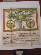 VP AFFICHE 95cm X 98cm (V1912) PéLéRINAGE A NOTRE-DAME-AU-BOIS (3 Vues) Patronne De La Foret De Soignes - Posters