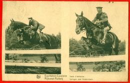 Rijkunst-Ruiterij - Equitation-Cavalerie: Springen Over Hindernissen - Sauts D'obstacles - Chevaux