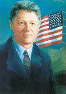 1 AK USA * Portrait Von Bill Clinton - Er War Von 1993 Bis 2001 Der 42. Präsident Der USA * - Persönlichkeiten