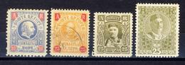 1895/1913 - Montenegro - Francobolli Per Avvisi Di Ricevimento  - Nuovi Mlh E Annullati - Montenegro