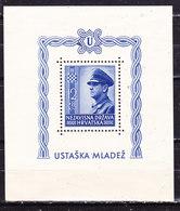 Croazia 1943 Foglietto  Nuovo MLLH - Croatie