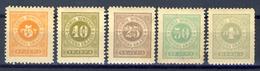 1902 - Montenegro - Segnatasse 2 Serie  - Nuovi Mlh - Montenegro
