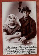Niederlaendisches Paar, Koenigin Wilhelmina, Vlissingen Nach Hannover 1901 (75152) - Paare
