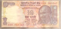 India - Banconota Circolata Da 10 Rupie P-89Ab - 2002 - India