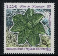 T.A.A.F. // 2002 //  No.333 Y&T Neuf** Flore Antarctique - Neufs