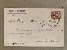 ARONA LAGO MAGGIORE   BRAND & ISENBURG FERRAMENTA OTTONAMI CHINCAGLIERIA 1905 - Verbania
