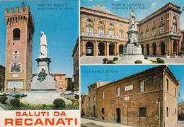 12506-SALUTI DA RECANATI(MACERATA)-FG - Saluti Da.../ Gruss Aus...