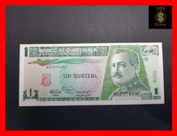 GUATEMALA 1 Quetzal  3.1.1990  P. 73 A  UNC - Guatemala
