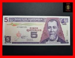 GUATEMALA 5 Quetzales  27.10.1993  P. 88 A  UNC - Guatemala