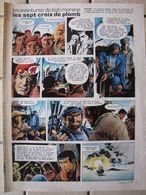 Planche Bob Morane - Les Sept Croix De Plomb - Pages 9 Et 10 - Zeitschriften & Magazine