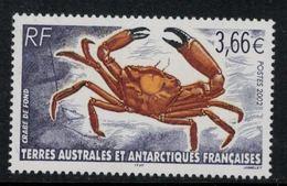 T.A.A.F. // 2002 //  No.335 Y&T Neuf** Faune Antarctique, Le Crabe De Fond - Neufs
