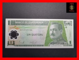 GUATEMALA 1 Quetzal  20.12.2006  P. 109  POLYMER  UNC - Guatemala