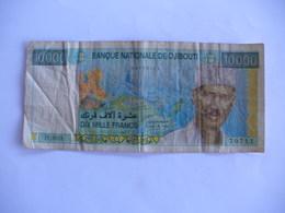 RARE BILLET 10000F DJIBOUTI NON TOUCHE - Djibouti